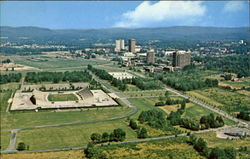 Aerial View University Of Massachusetts Postcard