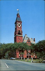 Abbot Hall Seat Of Marblehead Town Government, Washington Street