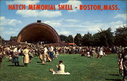 Hatch Memorial Shell Postcard
