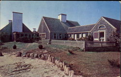 Summer Home Of Miss Katharine Cornell, Martha's Vineyard Island