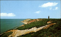 View Of The Colorful Clay Cliffs Of Gay Head