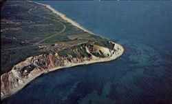 Aerial View Of The Gay Head Clay Cliffs