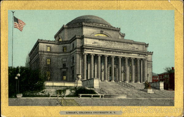 Library, Columbia University New York City