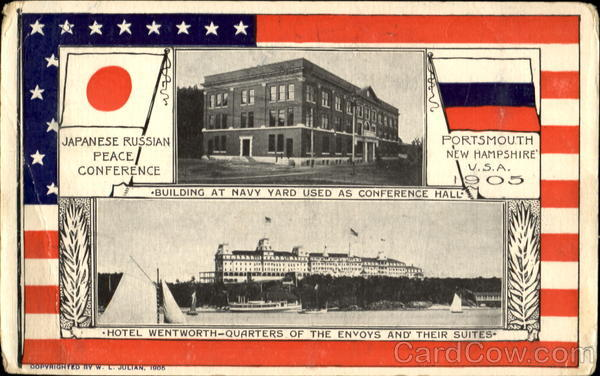Japanese Russian Peace Conference Portsmouth New Hampshire