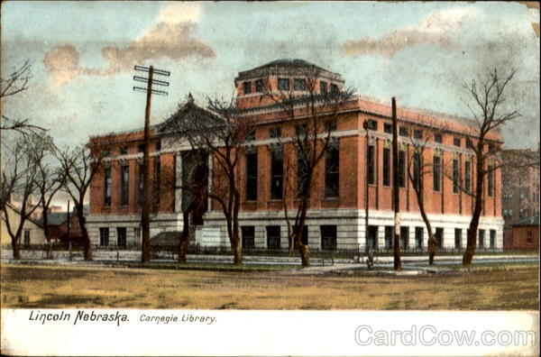 Carnegie Library Lincoln Nebraska