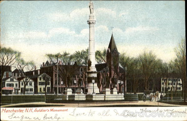 Soldier's Monument Manchester New Hampshire