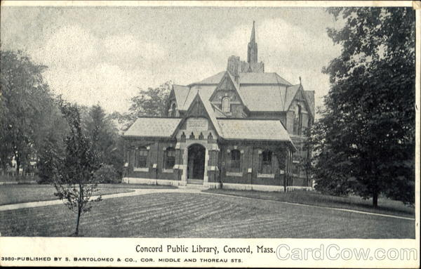 Concord Public Library Massachusetts