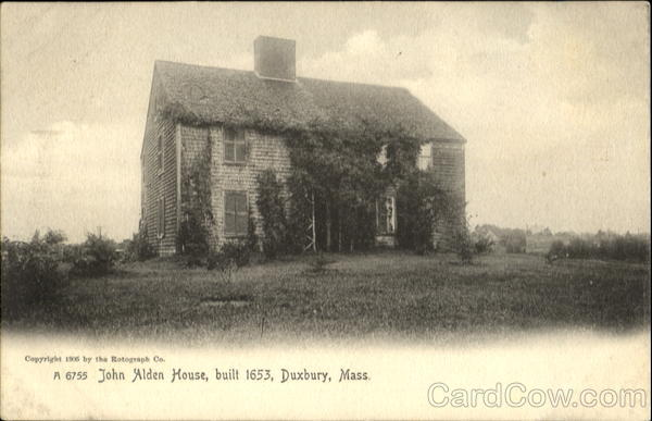 John Alden House Duxbury Massachusetts