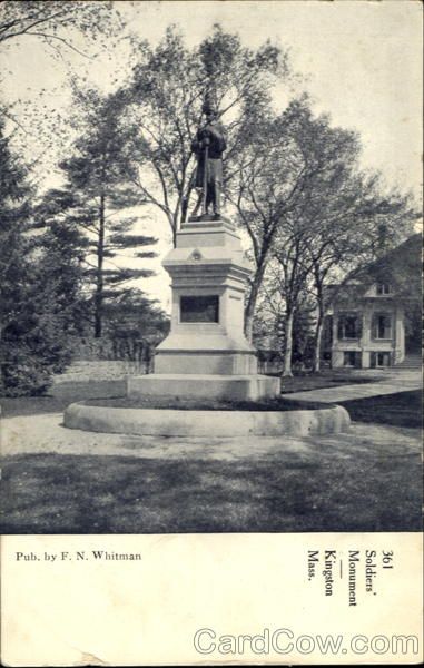 Soldiers Monument Kingston Massachusetts