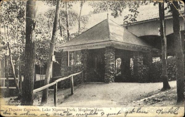 Theatre Entrance, Lake Nipmuc Park Mendon Massachusetts