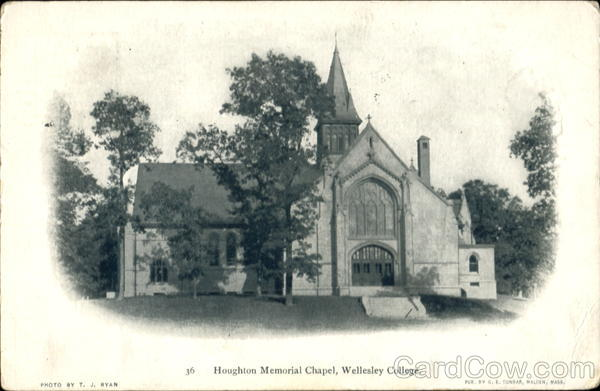 Houghton Memorial Chapel, Wellesley College Massachusetts