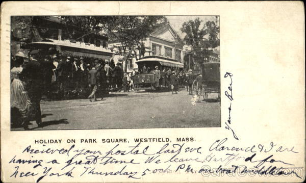 Holiday On Park Square Westfield Massachusetts