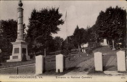Entrance To National Cemetery