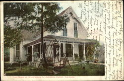 The Home Of Miss Lizzie L. Johnson