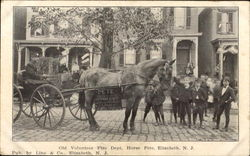 Old Volunteer Fire Dept, Horse Pete