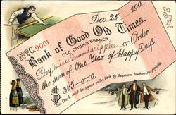 Bank Of Good Old Times