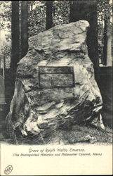 Grave Of Ralph Waldo Emerson