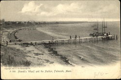 Hewett's Wharf And The Harbor