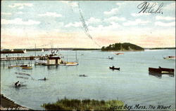 The Wharf, Onset Bay Postcard