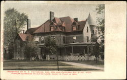 Residence Of W. A. Patterson, Cor. 3rd and Clifford Sts