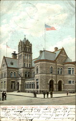Post Office And Custom House Postcard