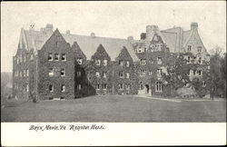 Radnor Hall Postcard