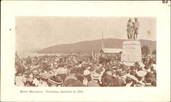 Battle Monument Unveiling 1903