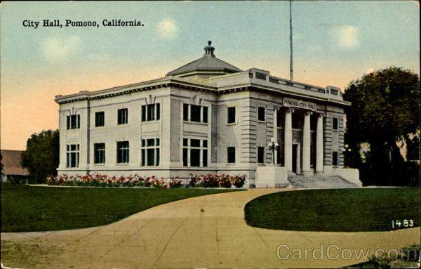 City Hall Pomono California