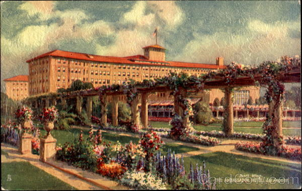 The Ambassador Hotel North Wing Los Angeles California