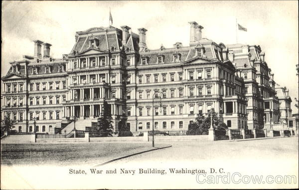 State War And Navy Building Washington District of Columbia