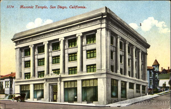 Masonic Temple San Diego California Freemasonry