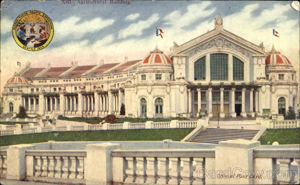 Agricultural Building 1909 Alaska Yukon-Pacific Exposition