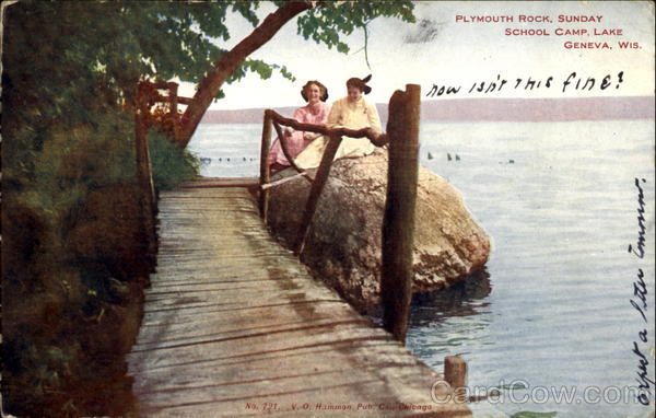 Plymouth Rock Sunday School Camp Lake Geneva Wisconsin