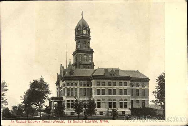 Le Sueur County Court House Minnesota