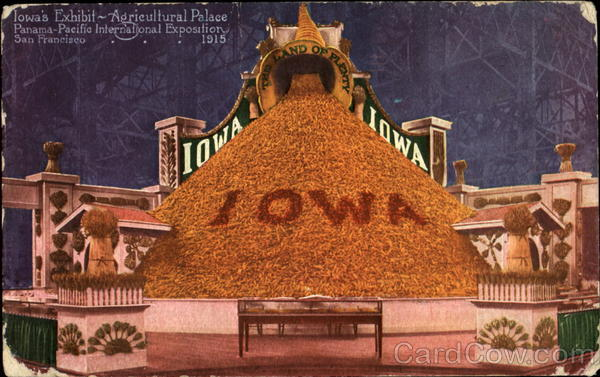 Iowa's Exhibit – Agricultural Palace San Francisco California