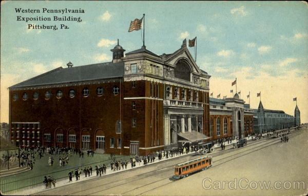 Western Pennsylvania Exposition Building Pittsburgh
