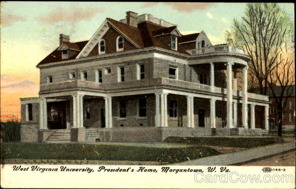 President's Home, West Virginia University Morgantown
