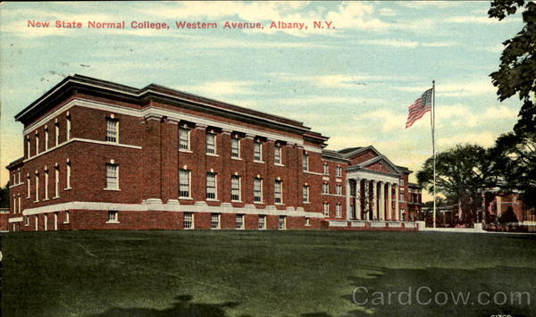 New State Normal College, Western Avenue Albany New York