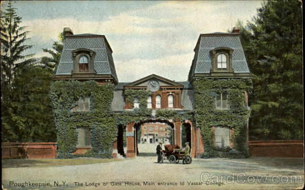 The Lodge Or Gate House, Vassar College Poughkeepsie New York