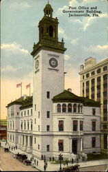 Post Office And Government Building Postcard