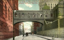 The Bridge Of Sighs Connecting The Tombs And Criminal Court Building, Centre St