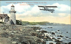 Inceville Light House Moving Picture Village By The Sea
