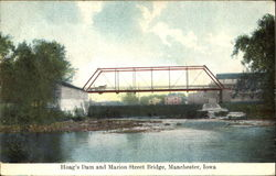 Hoag's Dam And Marion Street Bridge