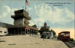 The Tower And Hotel On Mt. Penn