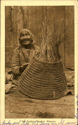 Indian Basket Weaver