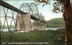 N. & W. Railroad Bridge And Ohio River`