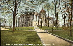 Entrance To Capitol, Third And North Street
