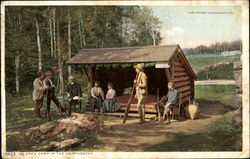 An Open Camp In The Adirondacks