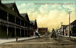 Main Street And Hotel Altamont