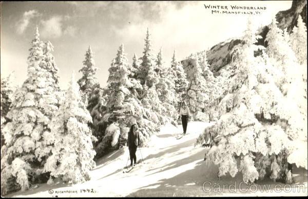 Winter Wonderland Mt. Mansfield Vermont